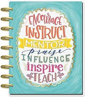 me & my BIG ideas The Happy Planner 2019 Classic Happy Planner - Seasonal Teacher - 12 Months (July 2019 - June 2020) (PLNY-109)