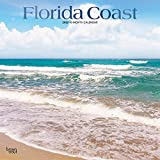 Florida Coast 2022 12 x 12 Inch Monthly Square Wall Calendar with Foil Stamped Cover, USA United States of America Southeast State Nature