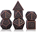 DND Dice Set per Dungeons And Dragons, Set di Dadi D&D Poliedrici Metallo DND, Dungeon And...