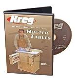 Kreg V06-DVD-Pocket Hole Joinery DVD, construcción de una mesa de enrutador