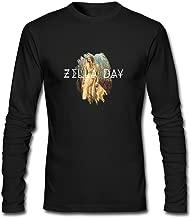 DanielRauda Men's Zella Day East Of Eden Long Sleeve T Shirt Tee Black