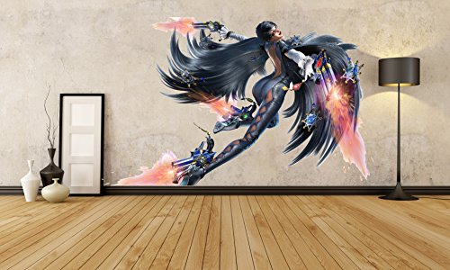 Painteeze Sexy Anime Girl Painting Like Modern Wall Decor, Hot Anime Girl Full Color Decal, Anime Girl Color Sticker, Anime Chick Color Decal, Anime Warrior Decor Color Sticker, cfb 09 (20x30)