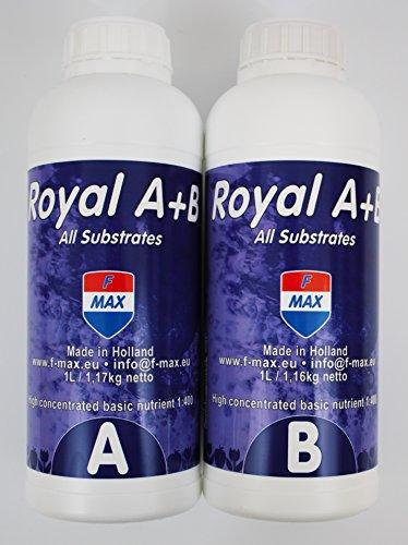 F-MAX Royal a & B 1 L raison Engrais pour Hydro, terre & Coco
