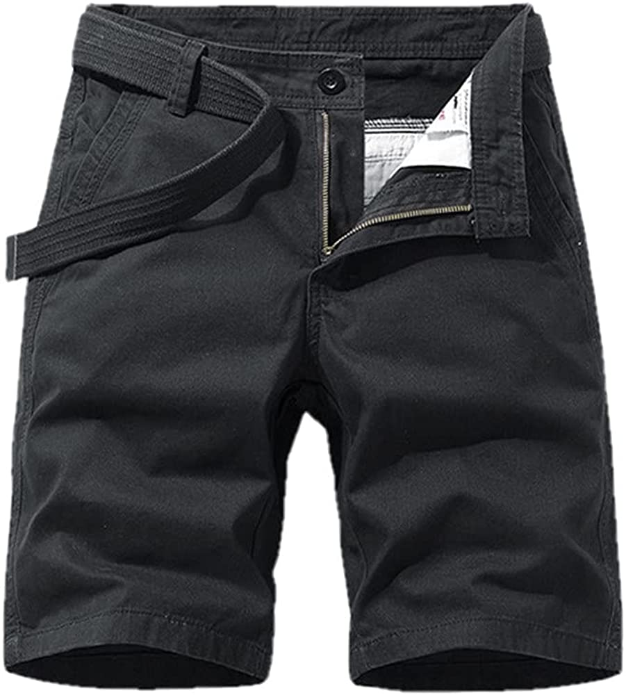 NP Men's Work Shorts Summer Men's Five-Point Pants Retro Sports Casual Pants Black