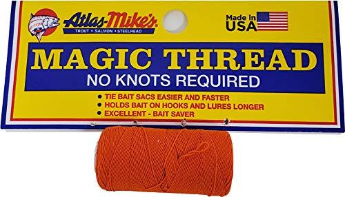 Atlas Magic Thread (1 Spool/Bag) 66013, 1.5 oz, Orange