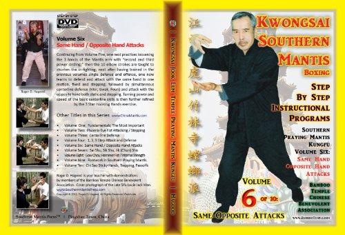 Southern Praying Mantis Kung Fu Volume SIx:  Same Hand / Opposite Hand Attacks