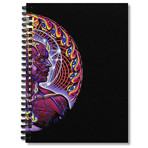 Spiral Notebook Tool Band Best Cover Trending Composition Notebooks Journal With Premium Thick College Ruled Paper