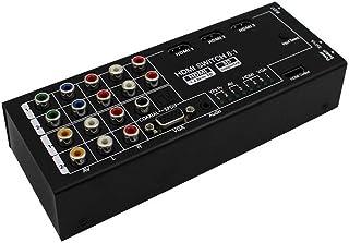 DAZISEN HDMI KVM Switch 8 Inputs 1 Outputs Multi-Function Video/Audio Switch