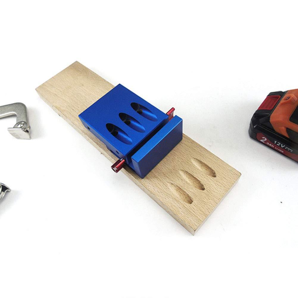 Plantilla para agujeros de bolsillo herramienta para juntas de madera taladro de 35 mm accesorios para esquinas de trabajo de madera DIY bisagra