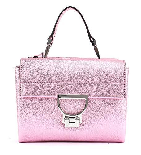 Coccinelle Arlettis Small Handbag Bubble Gum Metal