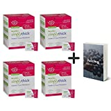Simply Thick Easy Mix Gel Thickener- 6g Individual Packets- 200 Ct (4 Pack) Instant Thickening Gel for...