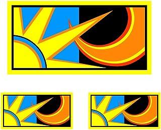 Rossi Pegatina Sol y Luna 2013 Vinilo Sticker