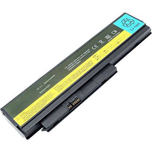 Aryee Batteria portatile compatibile con Lenovo ThinkPad X220 X220i X220s 45N1029 45N1023 0A36306 45N1025 0A36281 0A36283 (5200 mAh 11,1 V)