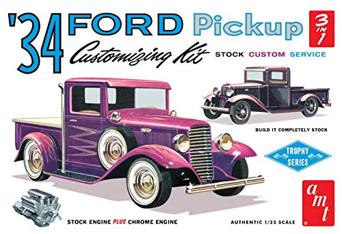 AMT AMT1120 1:25 1934 Ford Pickup, Multi