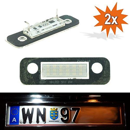 DoLED FDM LED Kennzeichenbeleuchtung Nummernschildbeleuchtung Kennzeichenleuchte Nummernschildleuchte mit E-Prüfzeichen Xenon Optik
