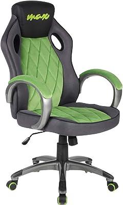 BAKAJI sillón Presidencial ergonómico Silla Gaming Racing de scrivana Muebles, Oficina, casa Sala de
