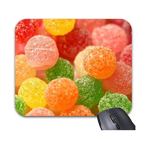 Mouse Pad Nettes Bonbon 25X30Cm Computerspiel Personalisiertes Bürotisch Mausmatte Desktop-Arbeit Office-Mauspad Stilvolles, Farbenfrohes, Bedrucktes Zubehör, Langlebige Tastatur,