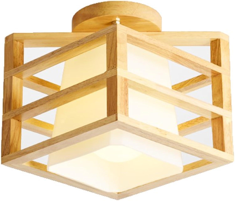 Europischen Stil Persnlichkeit Kreative Holz Deckenleuchte Schlafzimmer Restaurant Wohnzimmer Studie Korridor Korridor Gang Deckenleuchte (Gre   Diameter21cm)