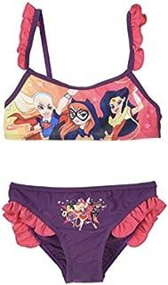 Maillot de Bain Deux pi/èces DC Comic Fille DC Superhero Girls