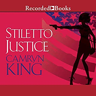 Stiletto Justice audiobook cover art