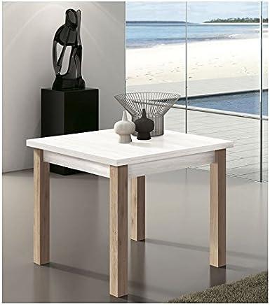 Amazon.es: mesa cocina madera extensibles 90 x 90 - 200 - 500 EUR ...