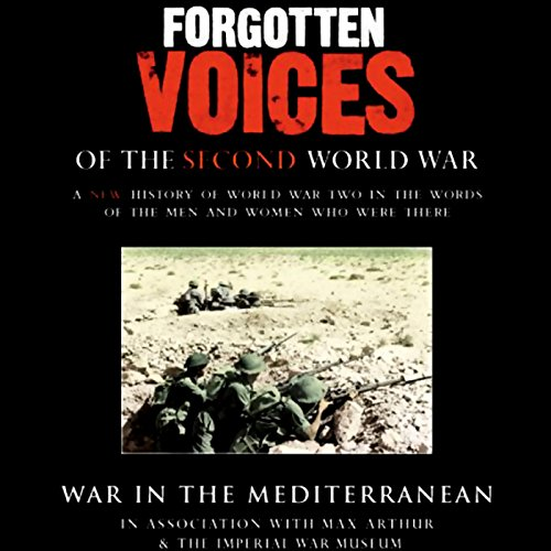 War in the Mediterranean audiobook cover art