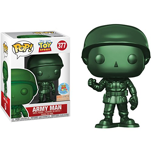 Funko Pop! Disney #377 Toy Story Metallic Army Man (Box Lunch Exclusive/Toy Story Land Grand Opening)