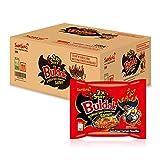 Samyang 2X Buldak (Korean) Hot Spicy Chicken Stir Fried Ramen 4.94 oz (Pack of 20)