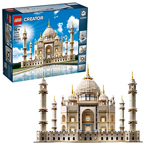 LEGO Creator Expert Taj Mahal 10256 Building Kit and Architecture Model, Perfect Set for Older Kids and Adults (5923