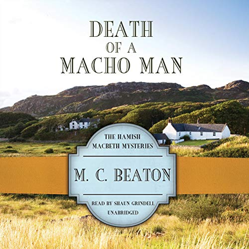 Death of a Macho Man Audiobook By M. C. Beaton cover art