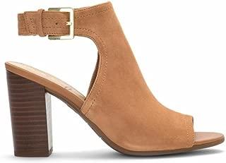 Women's Ervin Peep Toe Sandal, Saddle, 8 M