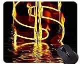 Yanteng Alfombrilla de Goma Antideslizante para Juegos, Alfombrilla de ratón Antideslizante de Papel Moneda