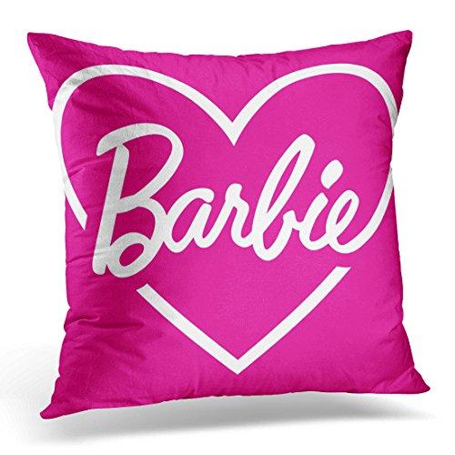 VANMI, federa per cuscino con motivo barbie, stile vintage, decorazione per la casa, quadrata, 50 x 50 cm