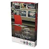 First Choiceコピー用紙、明るいホワイト、98明るさ、24lb、11x 17、500Shts / Rm、dmr85791