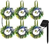 Top 10 Solar Christmas Wreaths