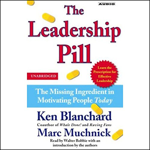 The Leadership Pill audiobook cover art