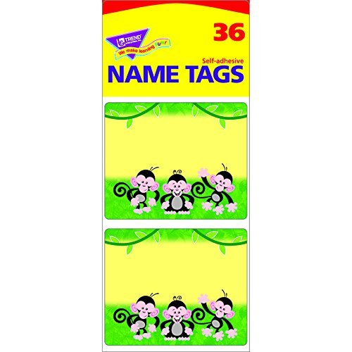 4 X Frog-tastic! Desk Toppers Name Plates Variety Pack by Trend Enterprises Inc