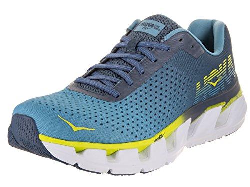 HOKA ONE ONE Men's Elevon Running Shoe (11 D US, Niagara Blue/Indigo)