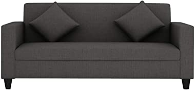 CasaStyle - Diana 3 Seater Sofa (Grey) | Best for Living Rooms, Offices