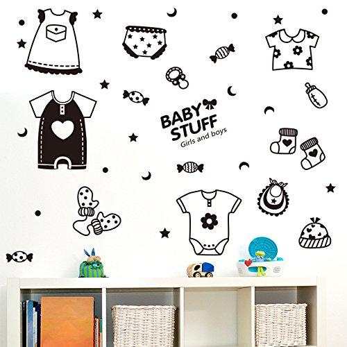 BB.er Produits pour bébé Stickers muraux Chambre d'enfant Salon La Chambre eco-Friendly Amovible Autocollants décoratifs étanches