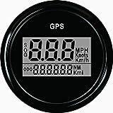 ELING Warranted Digital GPS Speedometer Odometer for Car Boat with Backlight 2'' (52mm) 12V/24V