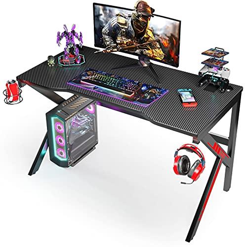 Trust Mesa para Gaming Dominus GXT 711 - Escritorio, Negro,