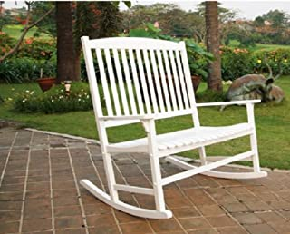 Best double rocking chair white Reviews