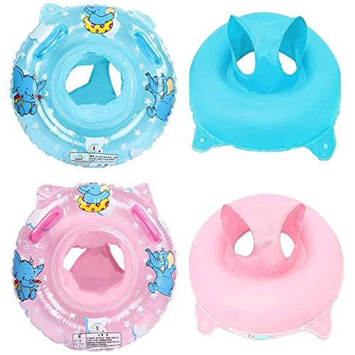WENTS Baby Schwimmreifen 2PCS Schwimmring Schwimmhilfe Schwimmsitz Aufblasbar Schwimmboot für Kleinkind Schwimmhilfe Spielzeug 6 Monate - 4 Jahre