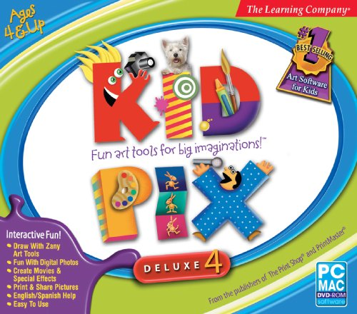 Price comparison product image Kid Pix Deluxe 4 Home Edition