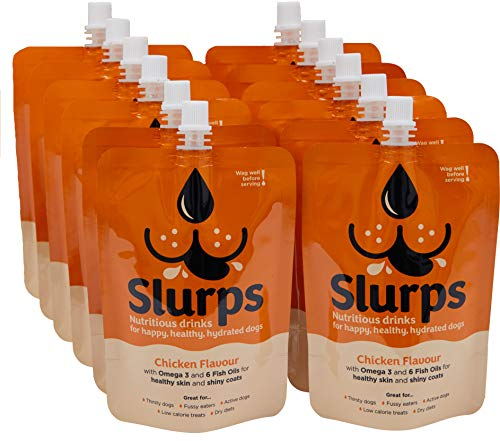 Slurps Nutritious Drinks for Dogs (Chicken, 12)