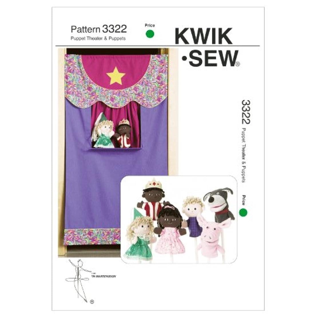Kwik Sew K3322 Puppet Theater Sewing Pattern, No Size wifbc3722100977