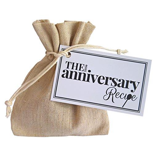 The Little Anniversary Recipe - Un regalo divertido, pensado y único, para regalar a tu pareja