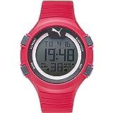 Puma Reloj Digital para Hombre de Cuarzo con Correa en Plástico PU911281003