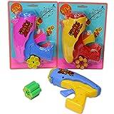Amakando Pistolet à serpentins avec Munition / Coloré avec 6 Coups / Pistolet de...